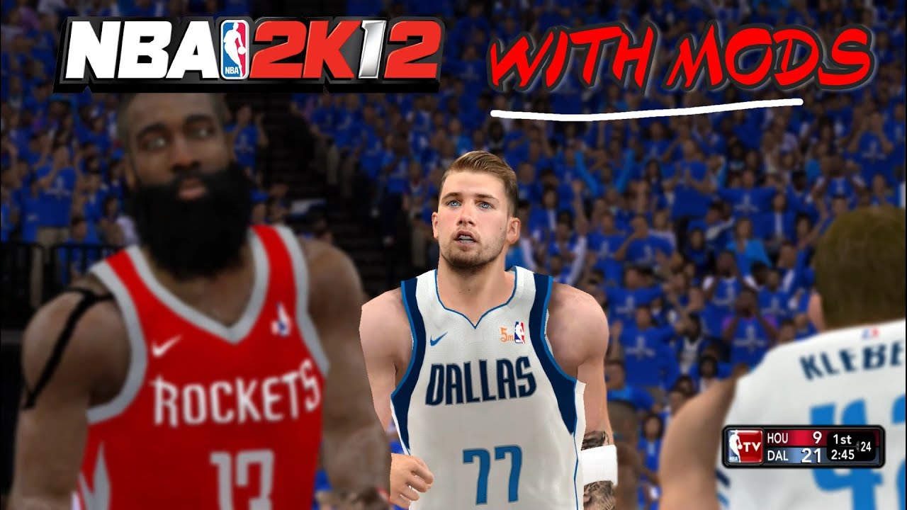 Download Here Is What NBA 2K12 Looks Like With Mods