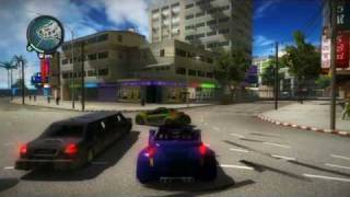 Just Cause 2 fastest car gameplay