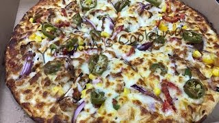 Spicy Chicken Strips Pizza (Made in my Takeaway)