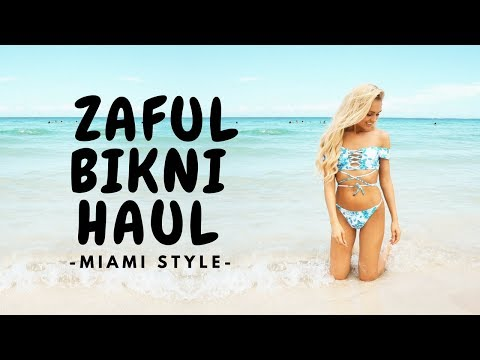 Zaful bikini haul 👙 - Try on haul 💖