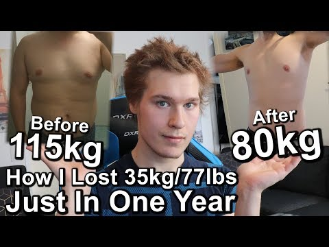 How I Lost 35kg/77lbs In One Year – My Weight Loss Story