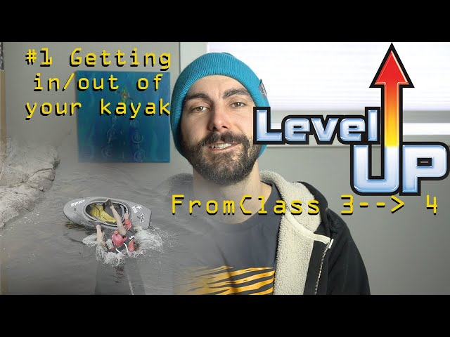 Level Up Your Kayaking #1: Getting in/out.