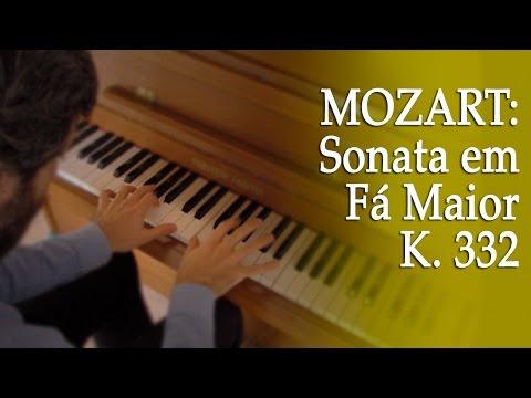 Como estudar a Sonata Fá Maior K. 332 de Mozart