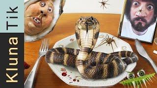 Kluna eating SNAKE, SPIDER &amp JELLYFISH!!! #19 KLUNATIK COMPILATION    ASMR eating sounds no talk