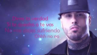 MCM Ft. Nicky Jam - Te Quedas O Te Vas (Video Lirycs)