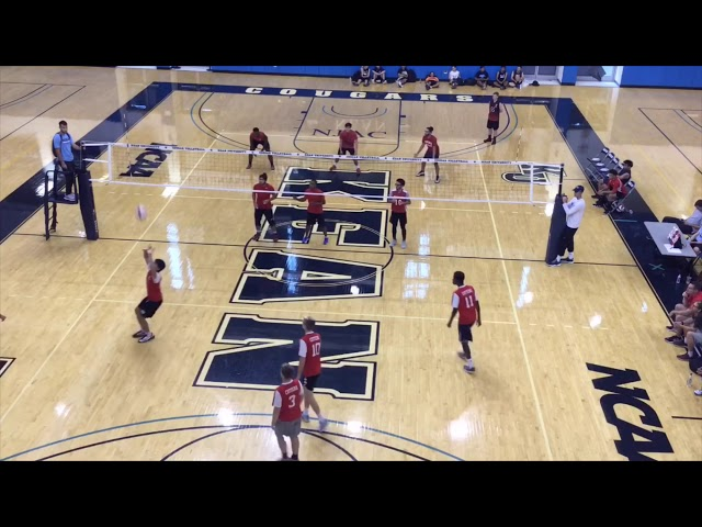 Jack Centeno Fall 2018 Volleyball Highlights