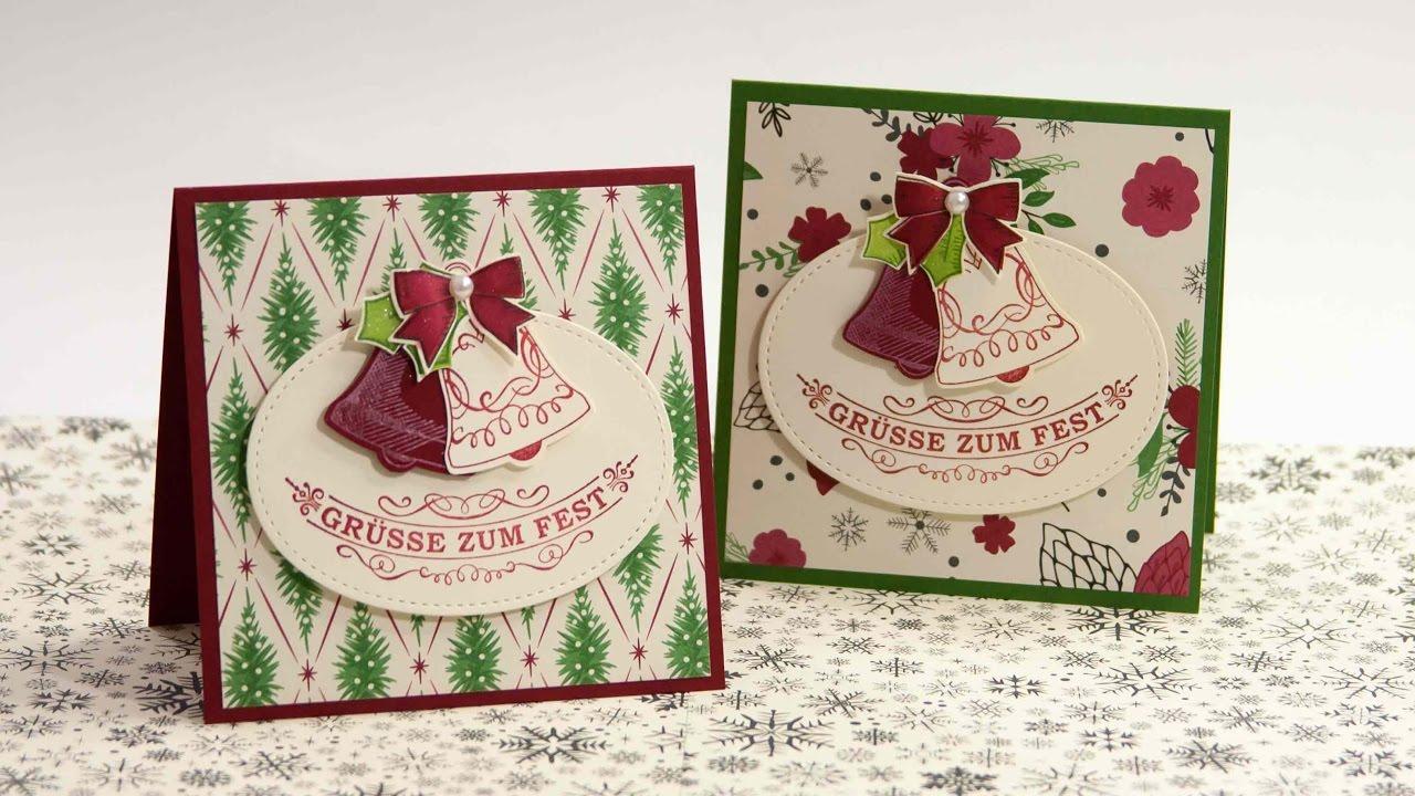 12 Karten Bis Weihnachten 2016 Tag 04 Stampin Up Alexandra