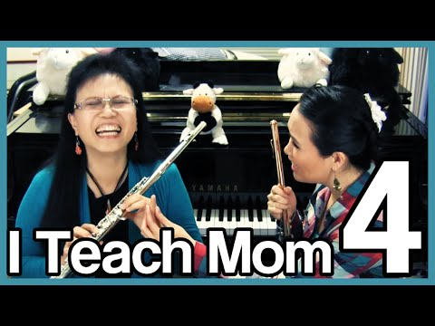 I Teach Mom How to Play the Flute 4