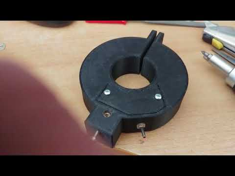 3D Printed Laser Centre Finder