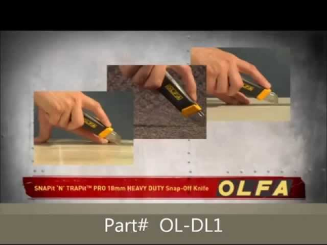 OLFA OL-DL1 Snap it n Trap it blade