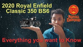 Good News for Royal Enfield Lovers || 2020 Royal Enfield Classic 350 BS6 || Detailed Review