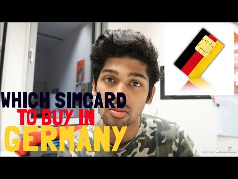 How To Get INTERNET CONNECTION And SIM CARD In Germany As Student