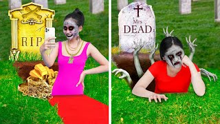 Rich vs Broke Zombie / Types of Zombies in Real Life   Funny Zombie Situations Rich VS Poor Zombie