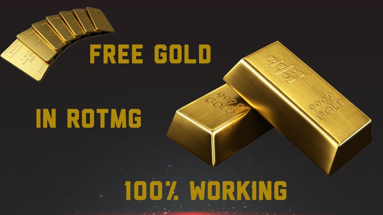 How To Get Free Gold In Rotmg 1