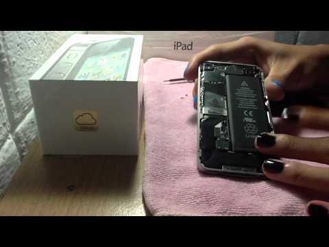 วิธีถอดฝาหลัง iPhone 4/4S