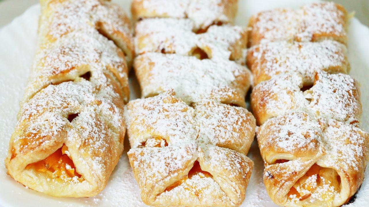Смотреть Пирог с тыквой и яблоками – 6 рецептов приготовления в духовке и мультиварке видео