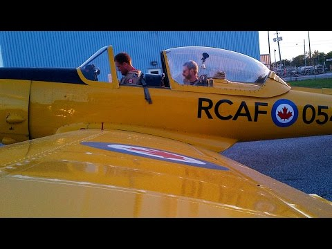 Chipmunk DHC-1 - WarBird checkout Series - Part One of… many! POV - Flying