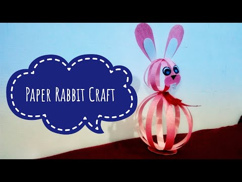 How to Make Paper Bunny at Home | Paper Rabbit | Miss Tiara