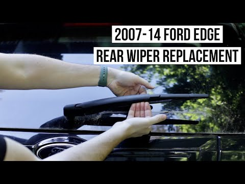 Ford Edge HOW TO: Rear Wiper Replacement (2007-2014) + Lincoln MKX / Transit Connect