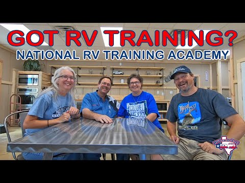 National RV Training Academy | Getting Our NRVIA Education | NRVTA