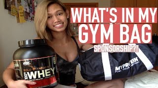 Video WHAT'S IN MY GYM BAG 2017 download MP3, 3GP, MP4, WEBM, AVI, FLV September 2018