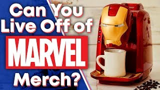 Download Can You Live Entirely Off of Marvel Merchandise? (Ft. Red Bard) Mp3 and Videos