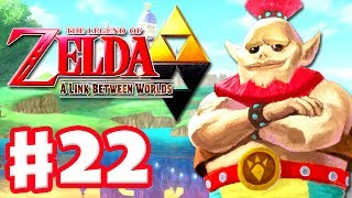 The Legend of Zelda: A Link Between Worlds - Gameplay Walkthrough Part 22 - Ice Ruins (3DS)