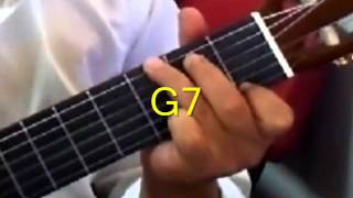 """How to play """"Release me"""" by Elvis Presley on Guitar"""