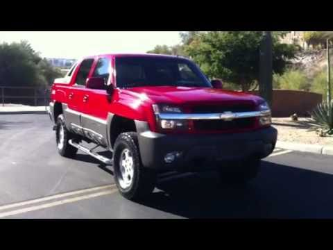 2002 Chevy Avalanche Z71 4x4  YouTube