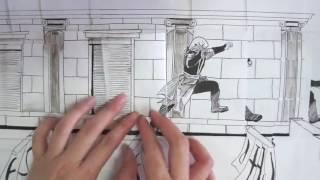 Download Video Assassin's Creed Paper Parkour (Dessin Animé 3D) MP3 3GP MP4