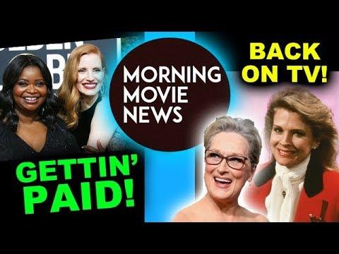 Chastain & Spencer Salary, Meryl Streep Big Little Lies 2, Murphy Brown 2018