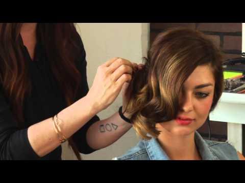 How To Create A Side Chignon Hairdo : Mane Street
