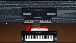 Kyouran Hey Kids!! - Noragami Aragoto by: The Oral Cigarettes on a ROBLOX piano. [Butchered]