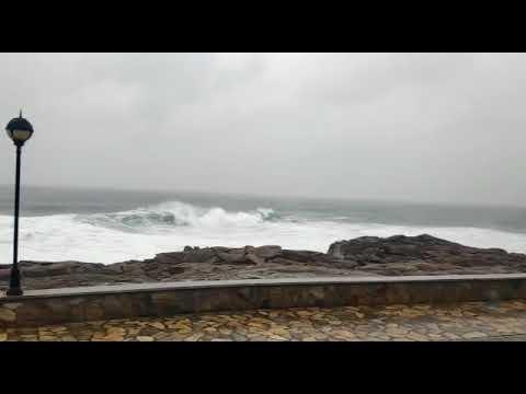 El temporal deja lluvias copiosas y vientos de más de 133 km/h en A Mariña