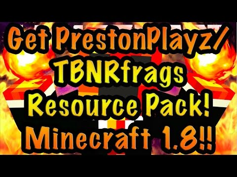 How To Download TBNRfrags/PrestonPlayz Texture Pack!