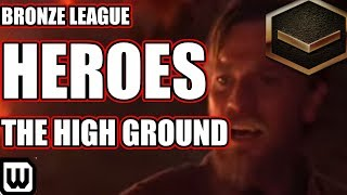 BRONZE LEAGUE HEROES #128 | THE HIGH GROUND - Thorax vs Moss