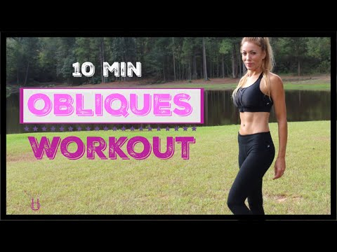 Oblique Workout For Women (At-Home) No Equipment