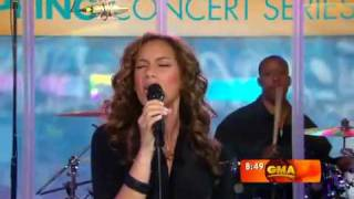 "Leona Lewis Better in Time ""Live at GMA"""