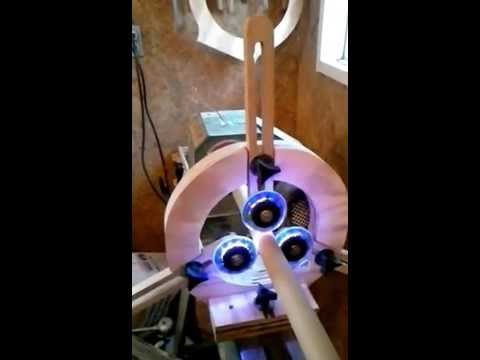home made wood lathe steady rest