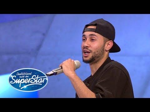 """DSDS-Kandidat Marcelo Araujo Alves mit seinem Song """"Verliebt in der falsches Mädchen"""""""