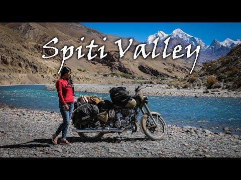 Ride to Spiti Valley - 10 days adventurous trip in 12 min