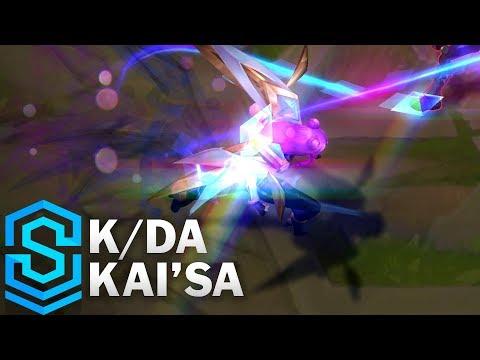 K/DA Kai'Sa Skin Spotlight - League of Legends