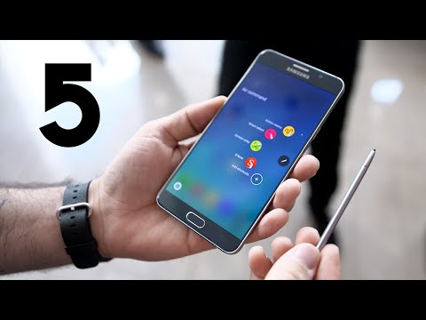 Samsung Galaxy Note 5: Top 5 Features!