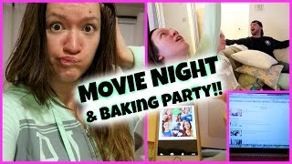 MOVIE NIGHT!!!! Vlogmas Day 6!! Thumbnail