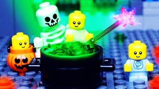 LEGO HALLOWEEN - BABY LEGO Stop Motion ANIMATION for Kids