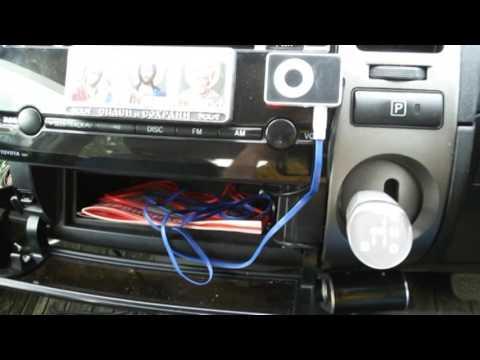 Как подключил MP3 плеер к штатной магнитоле Toyota Prius 20