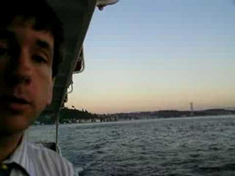 Along the Europe-Asia Interface:   Sailing Up the Bosphorus