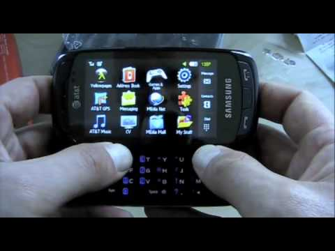 Samsung Impression a877 (AT&T) - Unboxing