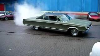 Burnout 68er Chrysler Newyorker, 440 - deel 7