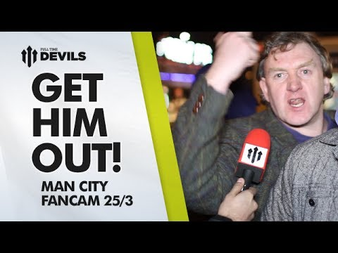 Get Him Out! | Manchester United 0-3 Manchester City | FAN CAM